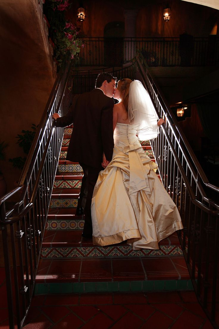A stunning bride & groom moment at Hotel Los Gatos #California #Dream #Wedding #Bride #Groom