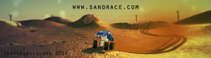 SandRace offroad racing - indiegame videogame