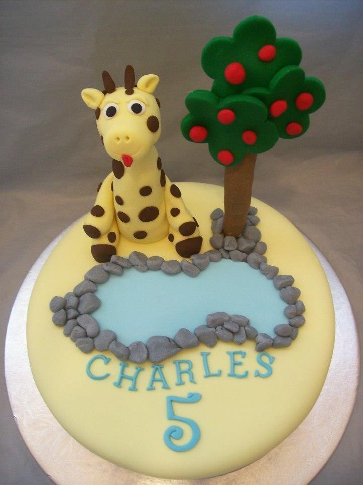 Giraffe cake topper giraffe cakes animal cakes cake
