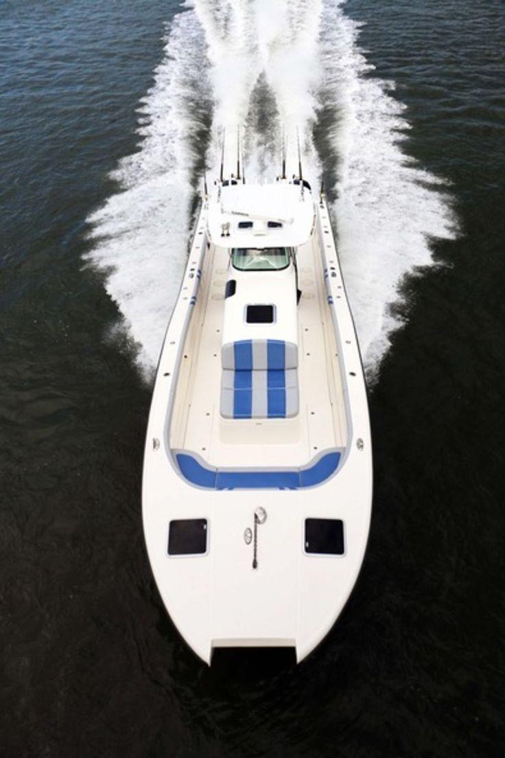Insetta 45 saltwater ocean fishing boat