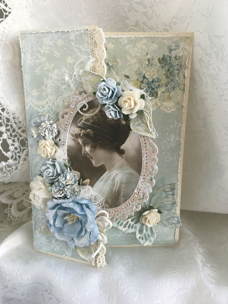 25+ unique Vintage handmade cards ideas on Pinterest