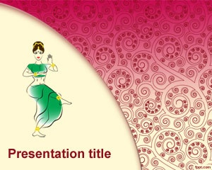 Arabic Dance PowerPoint Template is a free dance PowerPoint template for Arabic dance presentations in Microsoft Power Point