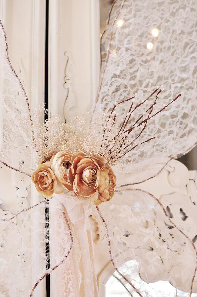 make fairy wings!