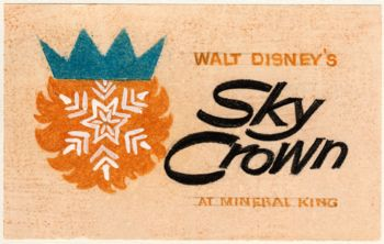 Disney's Sky Crown Resort at Mineral King would have been a ski resort located in the Mineral King Valley adjacent to Sequoia National Park in California. The overall project would have been a joint project between the United States Forest Service, who owned the land, and Walt Disney Productions, who the land would be leased to for 30 years. The resort was supposed to mimic the ski valleys of Aspen and Vail in Colorado; Mammoth Mountain, CA and Sun Valley ID.