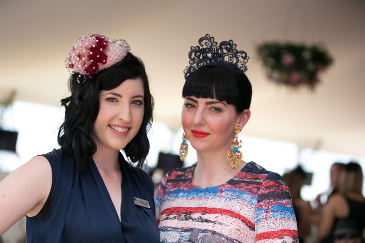 Millinery at Ladies Oaks Day, 2015