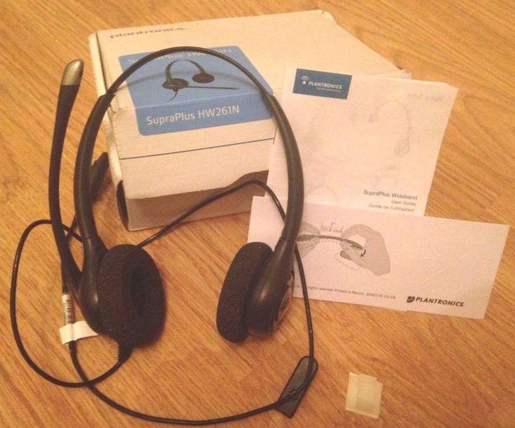 Plantronics SupraPlus HW261N Noise Cancelling Headset