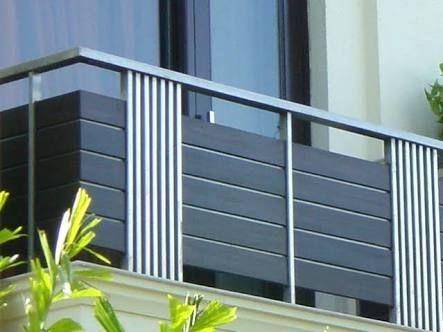 Image result for contemporary balcony rails ringhiere for Arredi esterni per terrazze