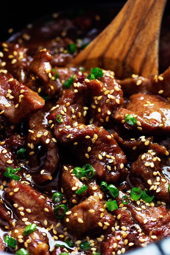 Amazing and flavorful beef that slow cooks to tender melt in your mouth perfection!   This will be one of the best meals that you will make! My youngest sister just left to college in Korea.  We had a fun little going away party for her.  I grilled up some Korean Chicken and it was …