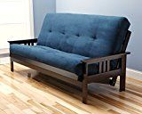 #ad  #3: Queen or Full Size Excelsior    Espresso Futon Frame w/ 8 Inch Innerspring Mattress Sofa Bed Wood Futons (Navy Matt and Frame Only (Full Size))  Queen or Full Size Excelsior    Espresso Futon Frame w/ 8 Inch Innerspring Mattress Sofa Bed Wood Futons (Navy Matt and Frame Only (Full Size))     by Jerry Sales     (38)   Buy new:      $463.99     (Visit the  Hot New Releases in Futons  list for authoritative information on this product's current rank.)  https://www.amazon.com/..