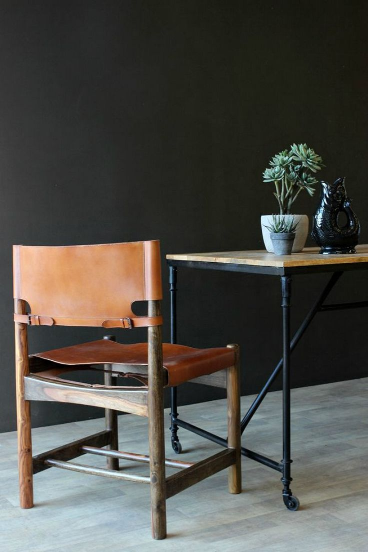 Genuine Leather Dining Room Chairs 1000 Ideas About Leather Dining Chairs On Pinterest Dining