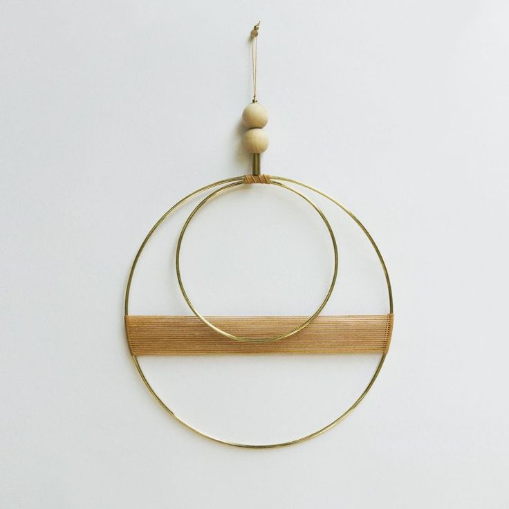 Double Circle Wall Hanging - more colors - Young & Able  - 5