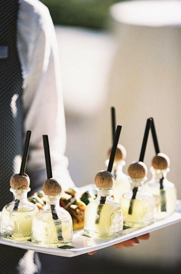 Mini Margarita Patron Bottles