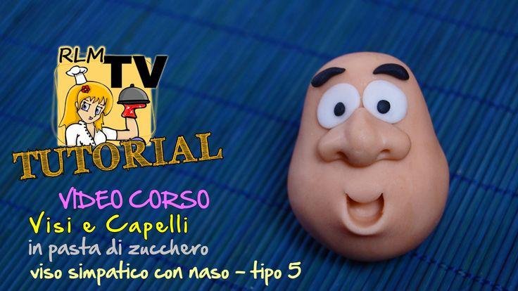 #VIDEO #CORSO: #Visi e #capelli in #pdz - #Viso simpatico con #naso - tipo 5
