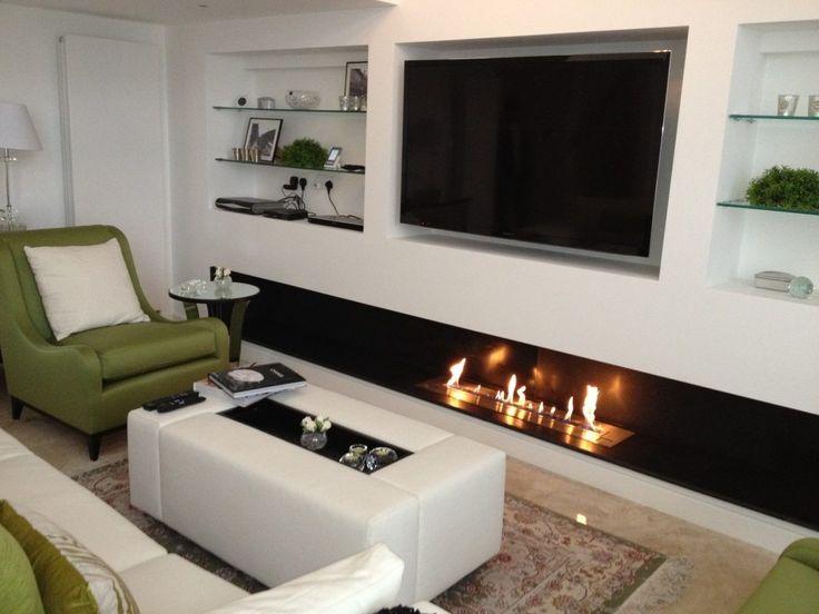 1000 id es sur le th me chemin e de t l vision sur pinterest chemin es chemin e murale et. Black Bedroom Furniture Sets. Home Design Ideas