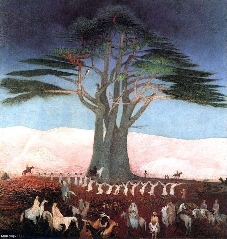 Csontváry Kosztka Tivadar: Zarándoklás a cédrusokhoz Libanonban, 1907