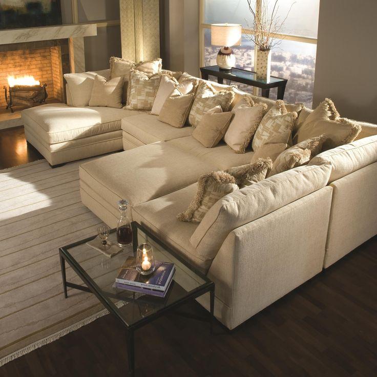 Best 25+ U shaped sectional sofa ideas on Pinterest   U shaped ...