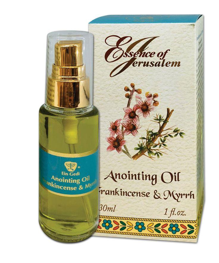 'Essence of Jerusalem' Anointing Oil - Frankincense ...