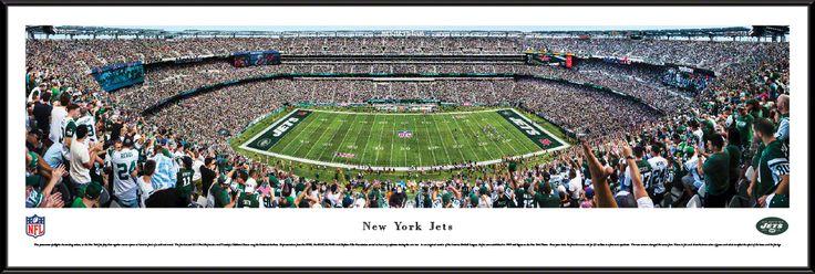 New York Jets Panoramic Picture - MetLife Stadium Panorama - Standard Frame $99.95