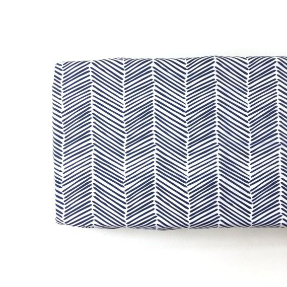 Changing Pad Cover Navy Freeform Arrows. Change Pad. by Iviebaby