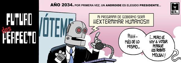 """El Condensador De Fluzo: Mi programa de gobierno será: """"exterminar humanos"""""""