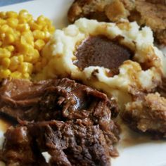 Slow Cooker London Broil & Gravy | I don't think I'll ever have it any other way after this. It makes incredible hot beef sandwhiches as leftovers too.
