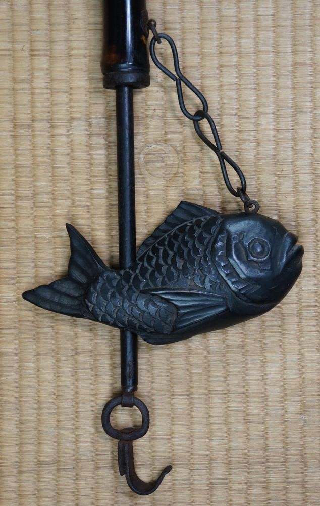 22 best Jizai images on Pinterest | Fireplaces, Kettle and Carp