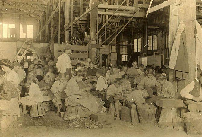 Детский труд в Америке в начале 20-го века