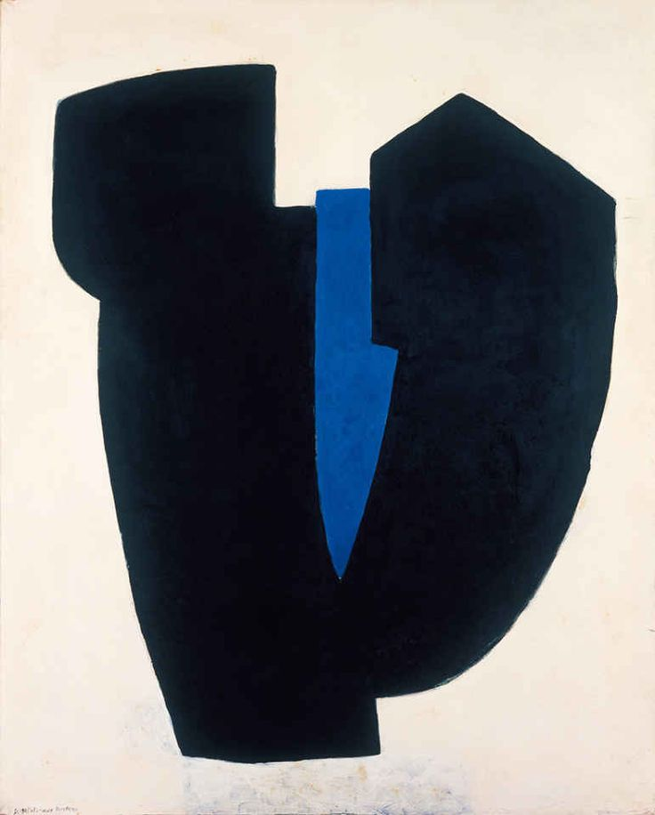 Serge Poliakoff, Forme (Form), 1968, Private collection, Paris
