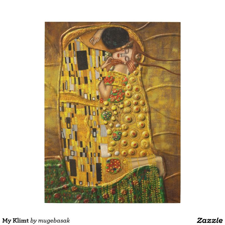My Klimt Wood Prints
