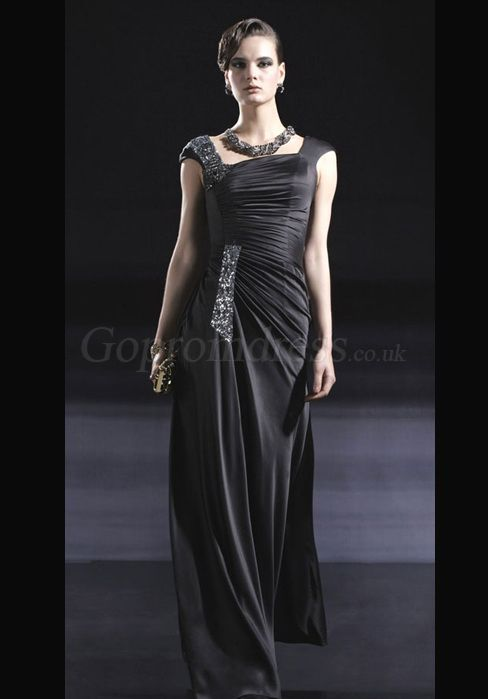 Long Black Evening Dresses