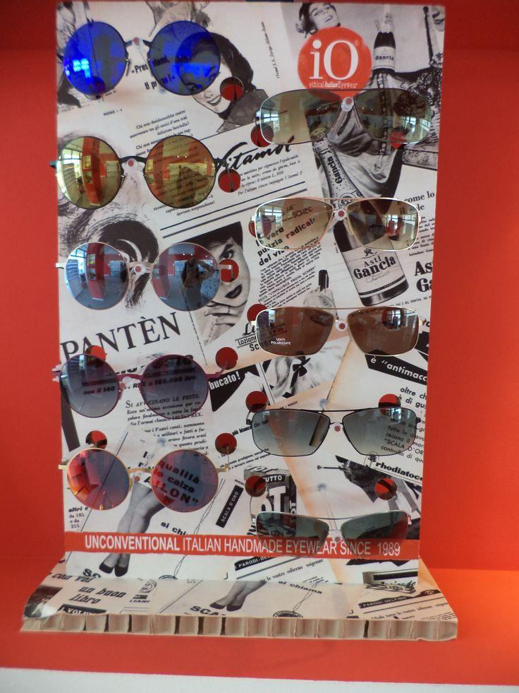 Occhiali leggeri colorati e specchiati il massimo della moda 2014 #mirror #sunglasses #round #man #uomo #madeinitaly #fattiamano #handmade