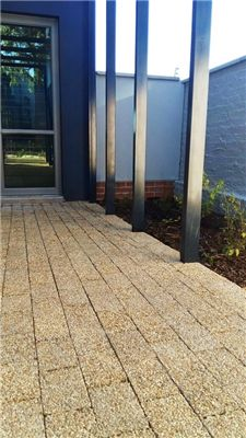 Paving bricks for the new Waterfall Estate project 'The…