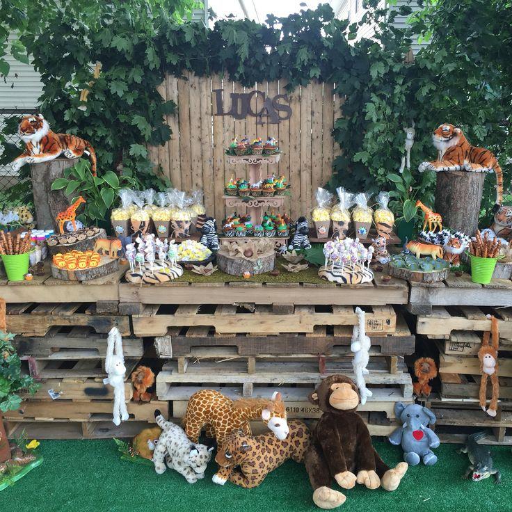 Backyard Jungle Birthday Party