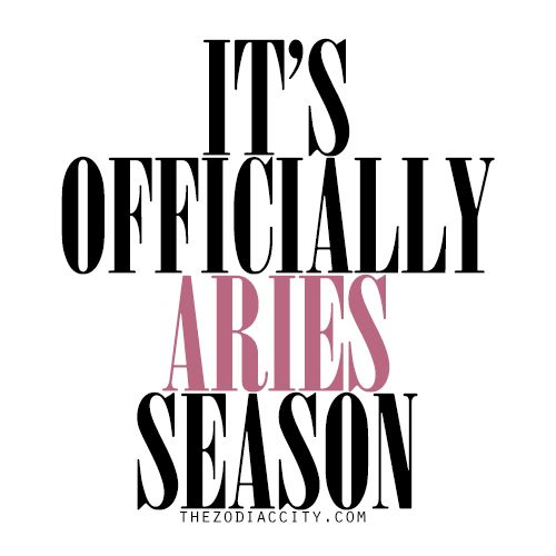 Happy Birthday to all the Aries out there!!!