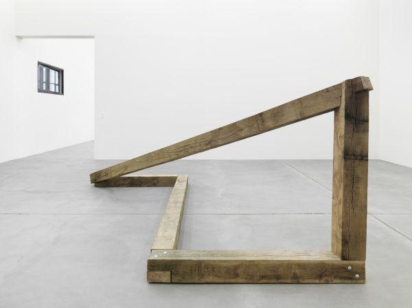 From the Oscar Tuazon exhibit manual labor at Galerie eva presenhuber in Zurich.
