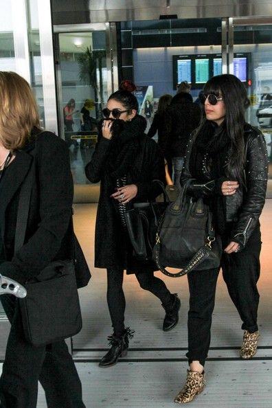Vanessa Hudgens seen at JFK