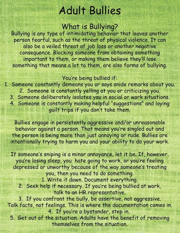 What is Bullying? | Psychopath Resistance