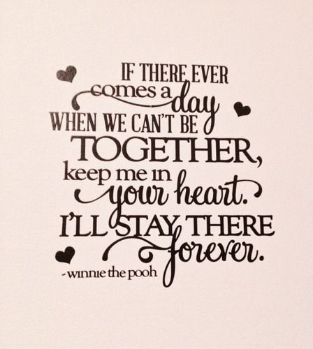 Keep Me in Your Heart Wall Decal Vinyl Home Decor Kids Room Love   eBay