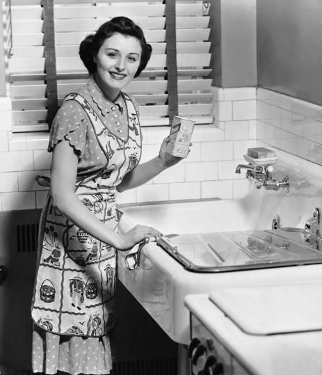 Vintage Kitchen Photography: 131 Best Images About Vintage Housewives On Pinterest