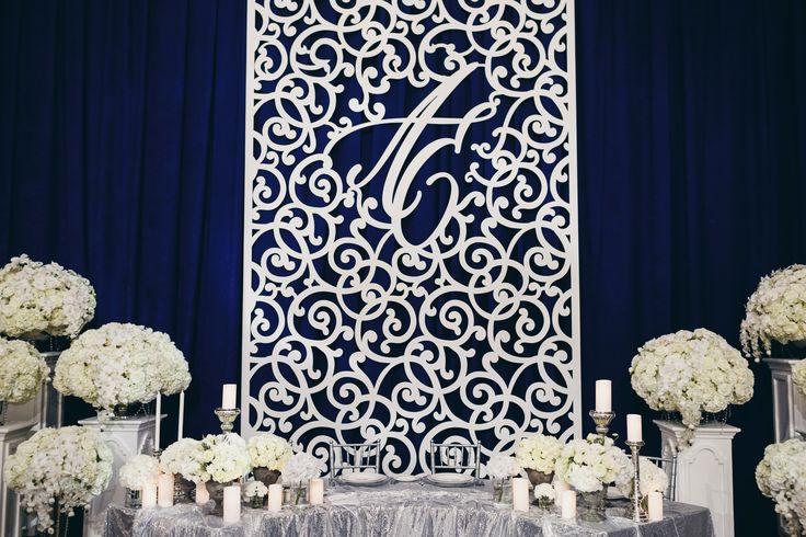 newlyweds table decor