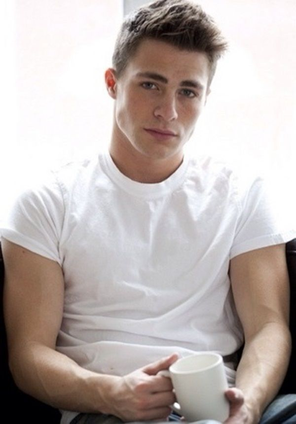 Drew Callahan (Colton Haynes) -  One Week Girlfriend & Second Chance Boyfriend by Monica Murphy