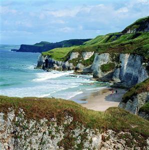 Portrush Whiterocks Beach, Antrim, Northern Ireland. Great day of golf spent here with friends...