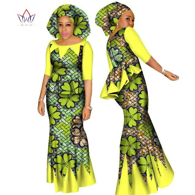 4dca340be6 BRW 2017 African Women 2 Piece Set Dashiki Cotton Print Wax Crop Top and Skirt  Set+Head Scarf Good Sewing Women Suits WY1437 | STYLESS&BEADS | African ...