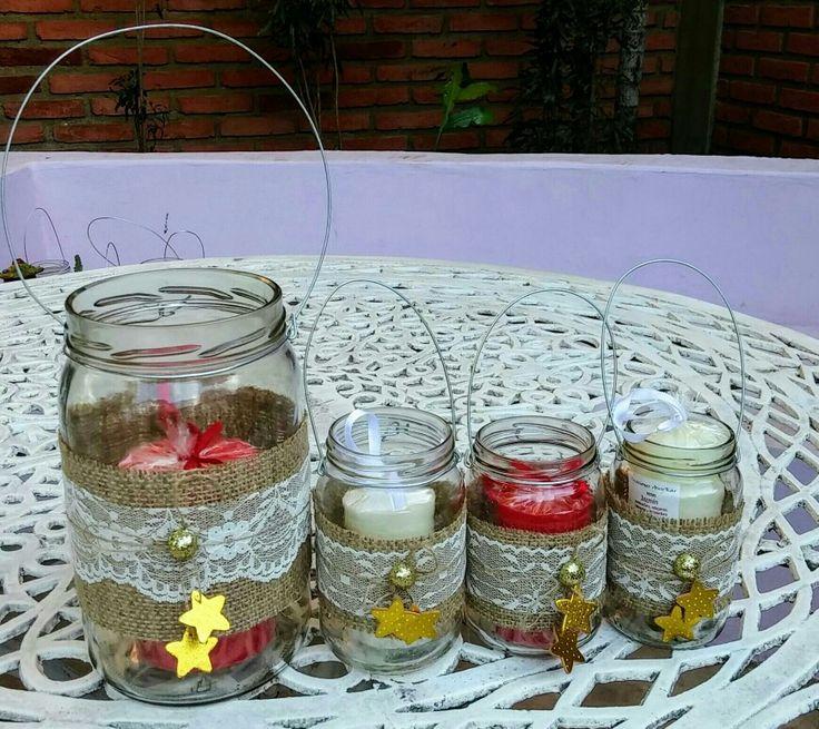 98 best solo velas images on pinterest candle holders - Porta velas navidenas ...