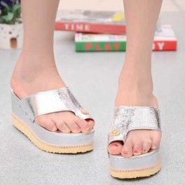 Wedges Silver