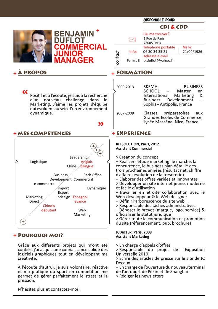 28 best CV images on Pinterest | Resume templates, Cv template and ...
