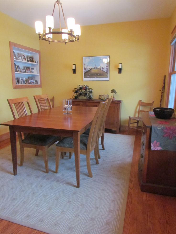 Paint Benjamin Moore And Craftsman Dining Room On Pinterest