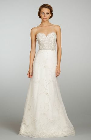 Kleinfeld: Sweetheart A-Line Wedding Dress  with Natural Waist in Tulle. Bridal Gown Style Number:32646085