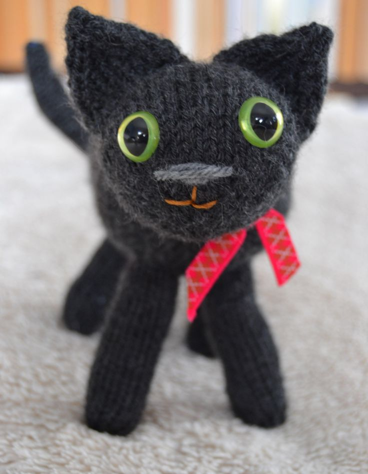Charcoal grey kitten by osweetlife on Etsy