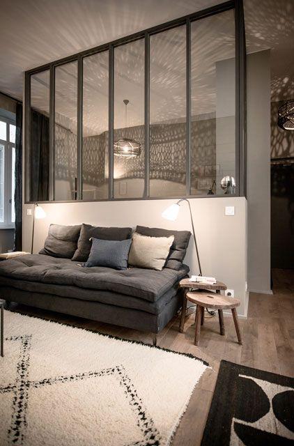 1000 id es sur le th me mur de s paration sur pinterest rev tement mural colonnes et. Black Bedroom Furniture Sets. Home Design Ideas